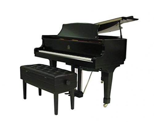 Frederick Duet Artist Adjustable Piano Bench Ebony Satin