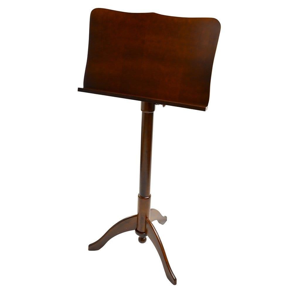 Frederick Adjustable Music Stand - Cherry Mahogany