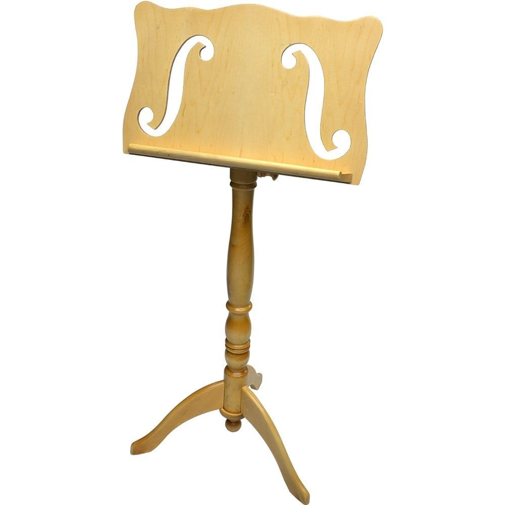 Frederick Adjustable Music Stand - Natural F-Hole