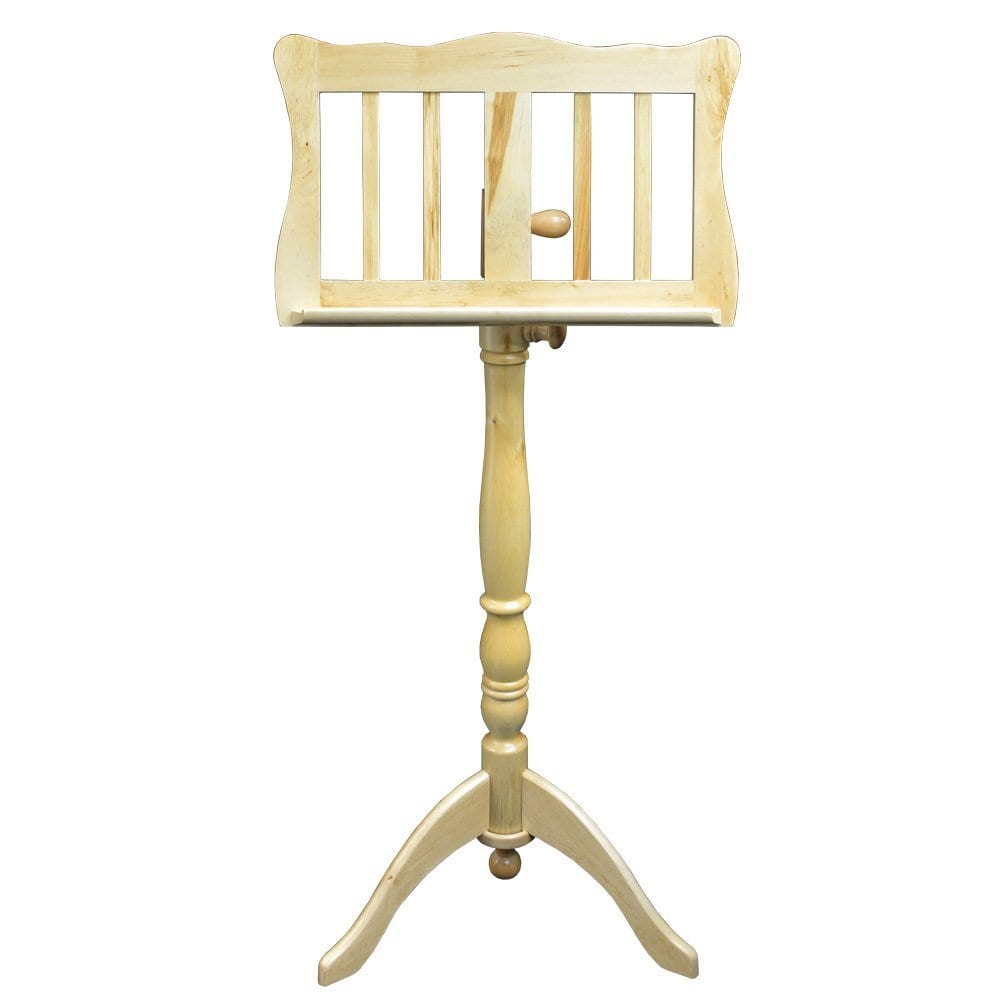 Frederick English Tutor Music Stand - Natural Satin