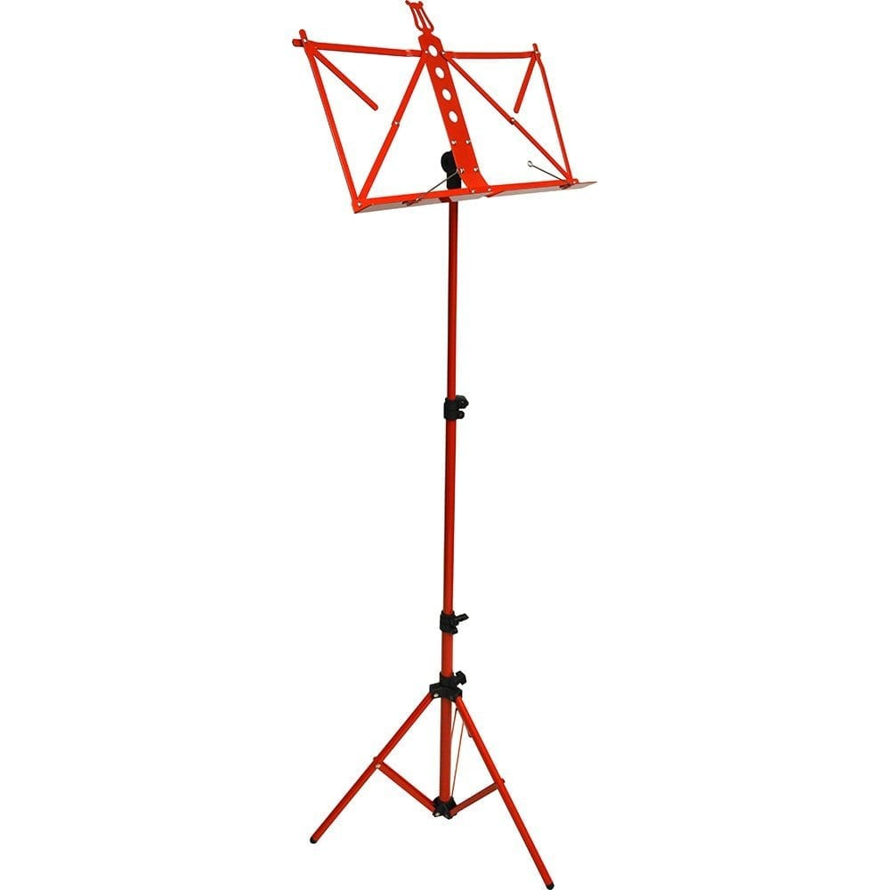 Frederick Grip & Go Music Stand - Aluminum (Red Enamel)