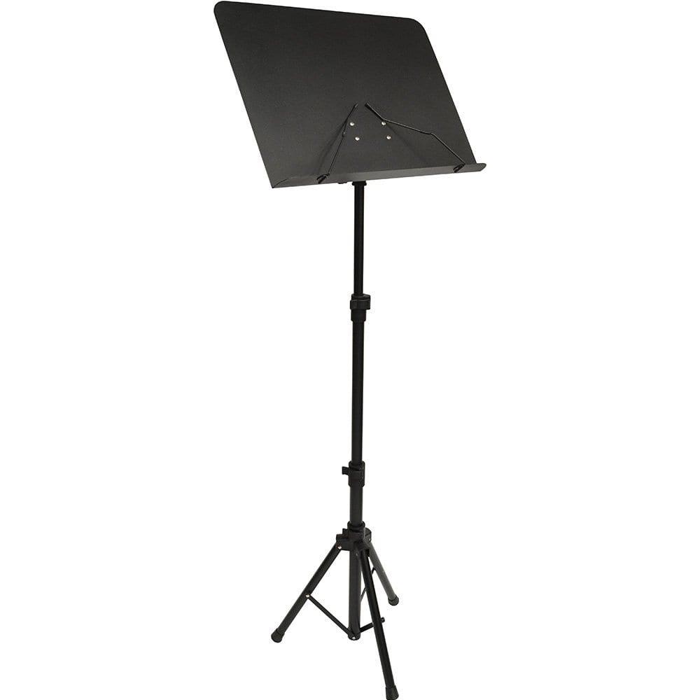 Frederick Grip & Go HD Music Stand - Steel - Satin Black