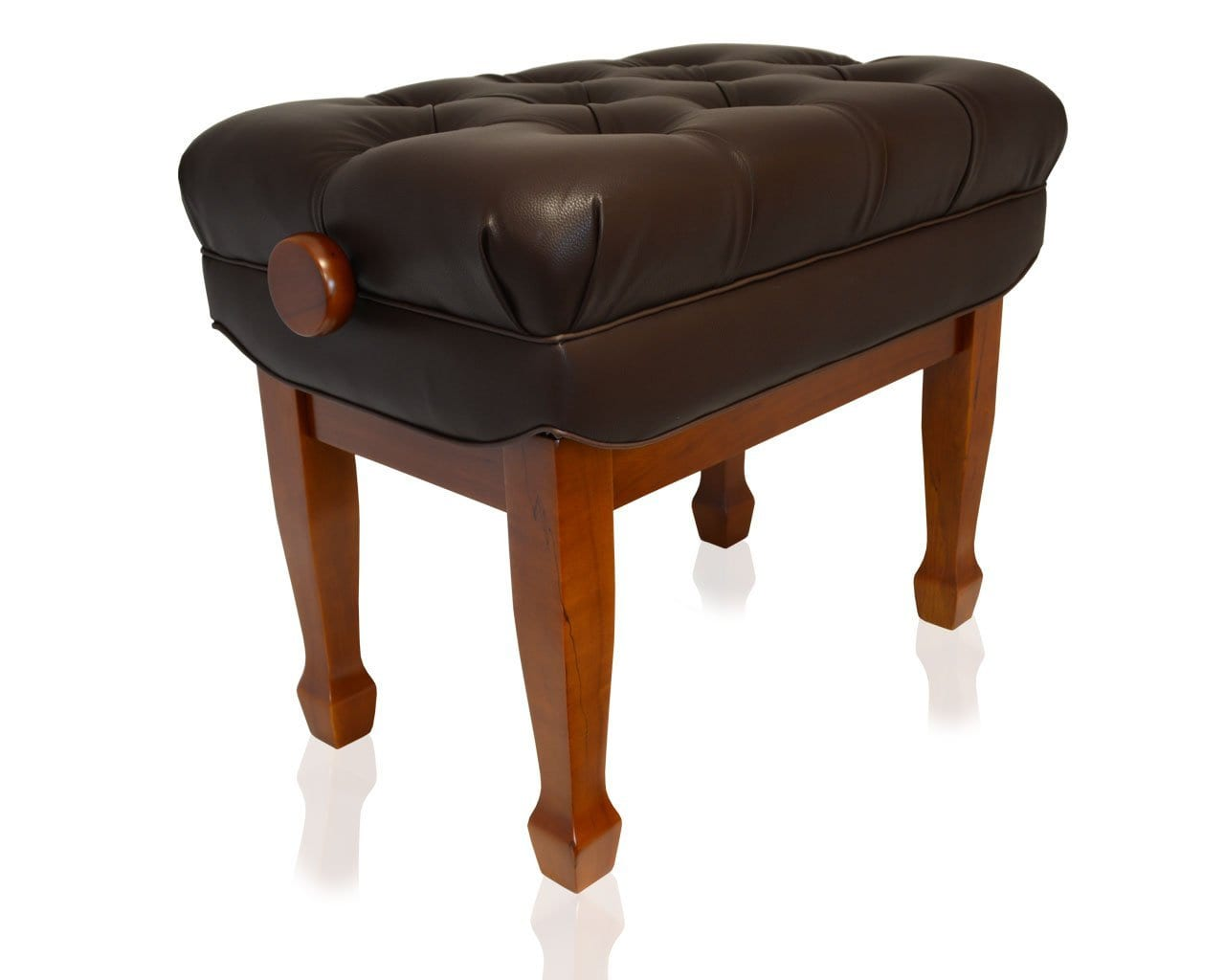 Frederick Adjustable Concert Series Tufted - Walnut Satin