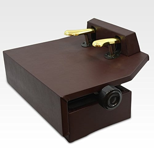 Frederick Piano Pedal Assistant Lift - Walnut Brown