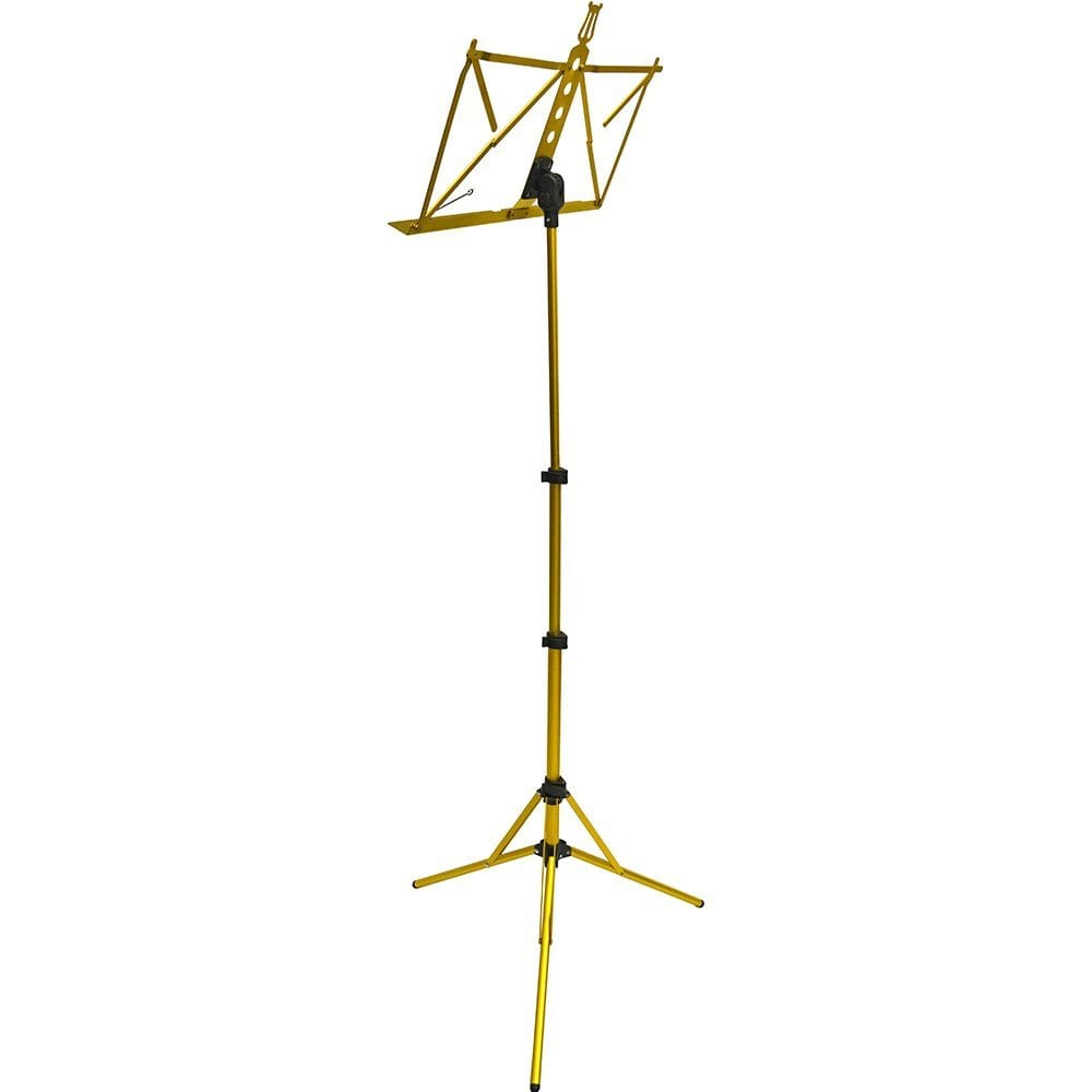Frederick Grip & Go Music Stand - Aluminum (Anodized Gold)