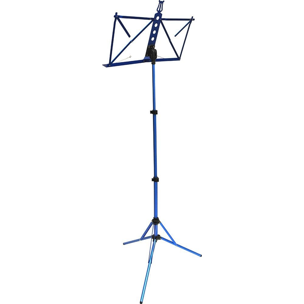Frederick Grip & Go Music Stand - Aluminum (Anodized Blue)