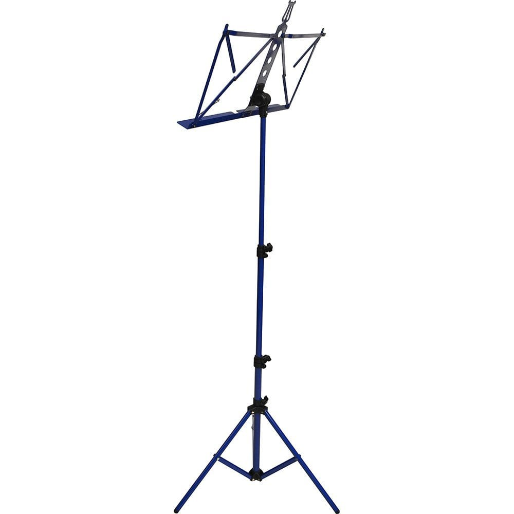 Frederick Grip & Go Music Stand - Aluminum (Blue Enamel)