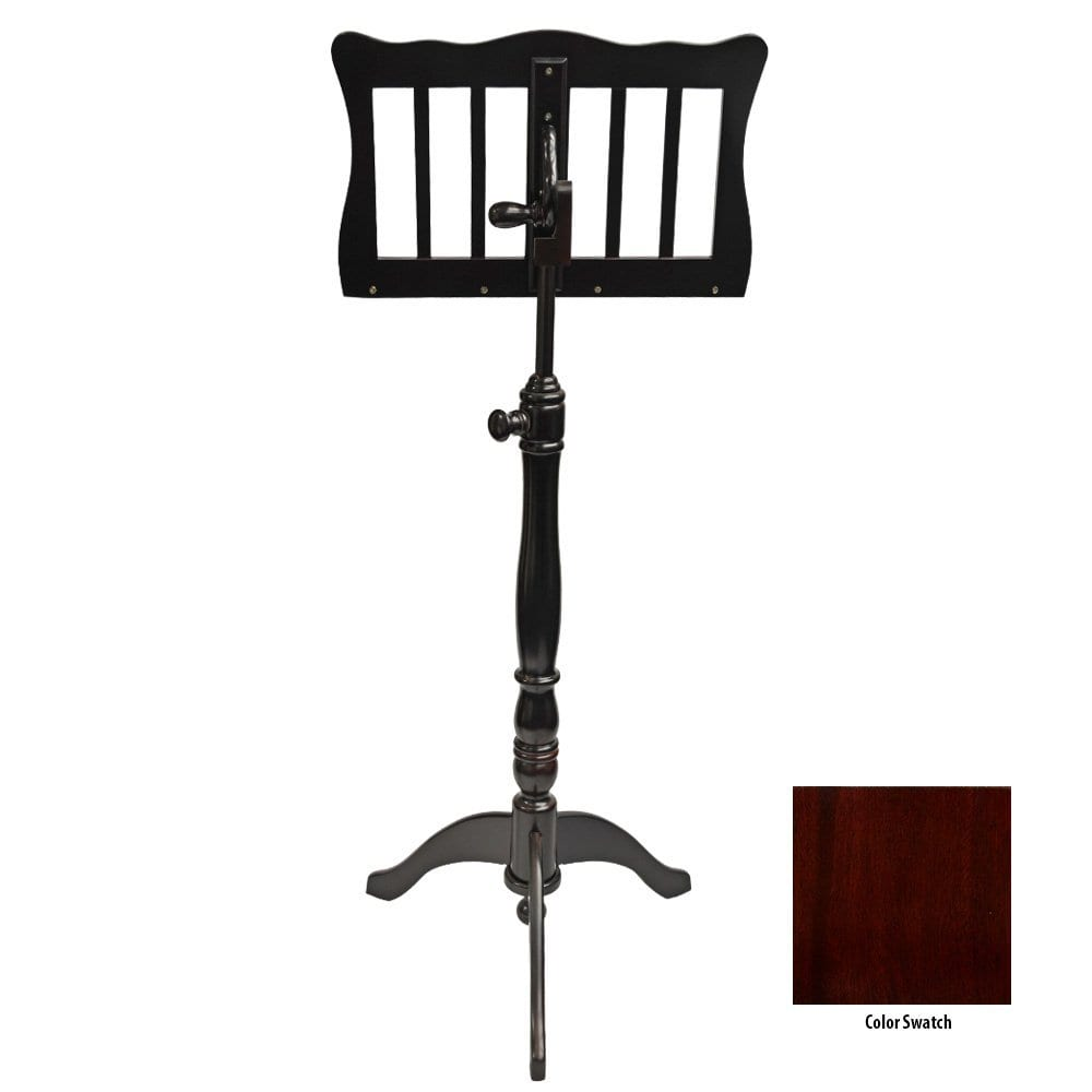 Frederick English Tutor Music Stand - Mahogany Polish