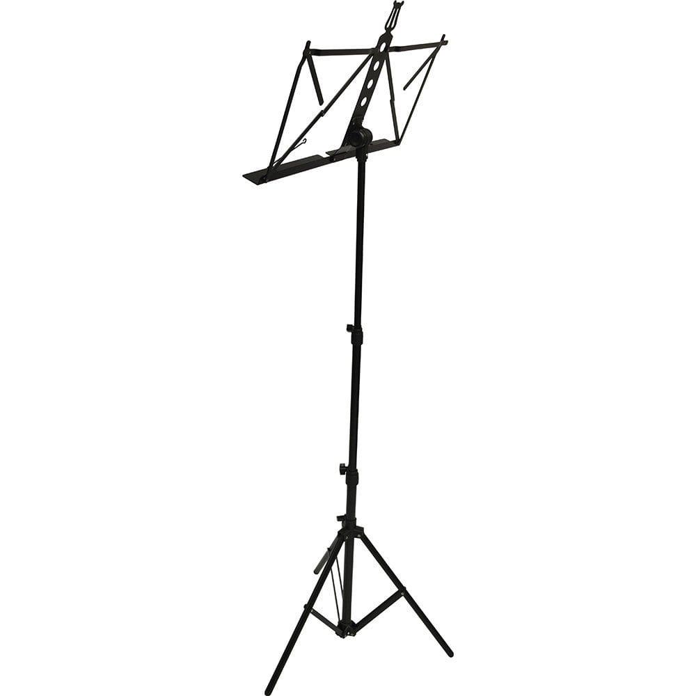 Frederick Grip & Go Music Stand - Aluminum (Black Enamel)