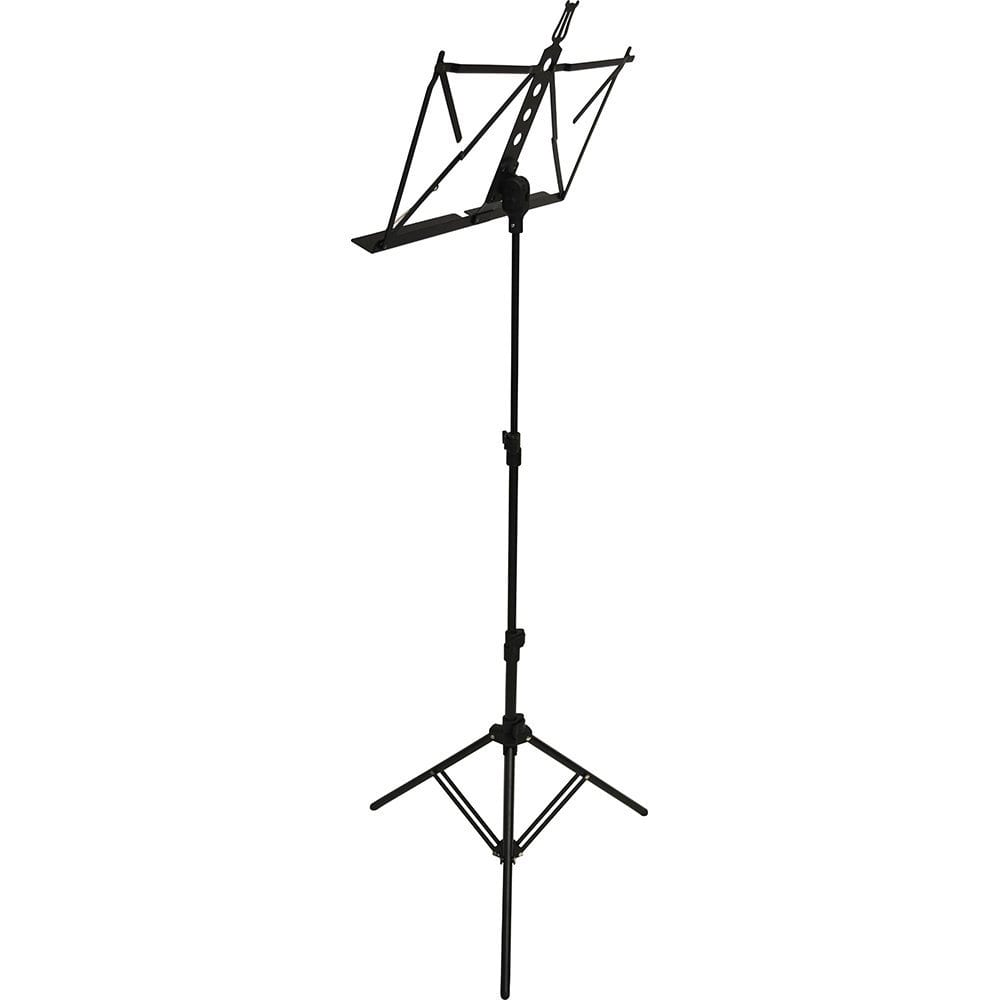 Frederick Grip & Go Music Stand - Aluminum (Anodized Black)