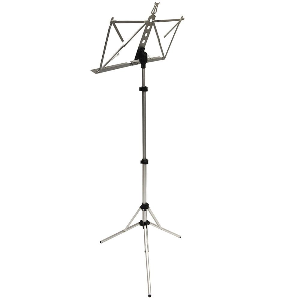 Frederick Grip & Go Music Stand - Aluminum (Anodized Silver)