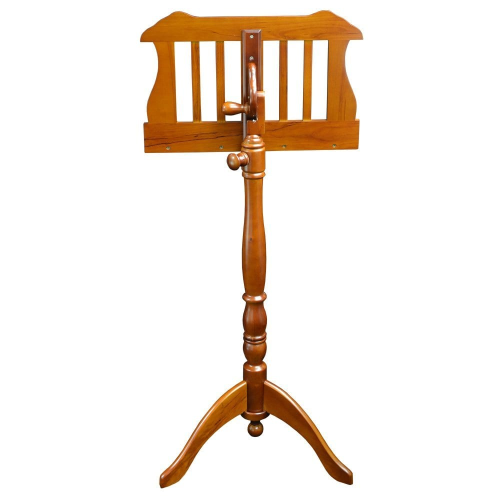 Frederick English Tutor Music Stand - Walnut Satin