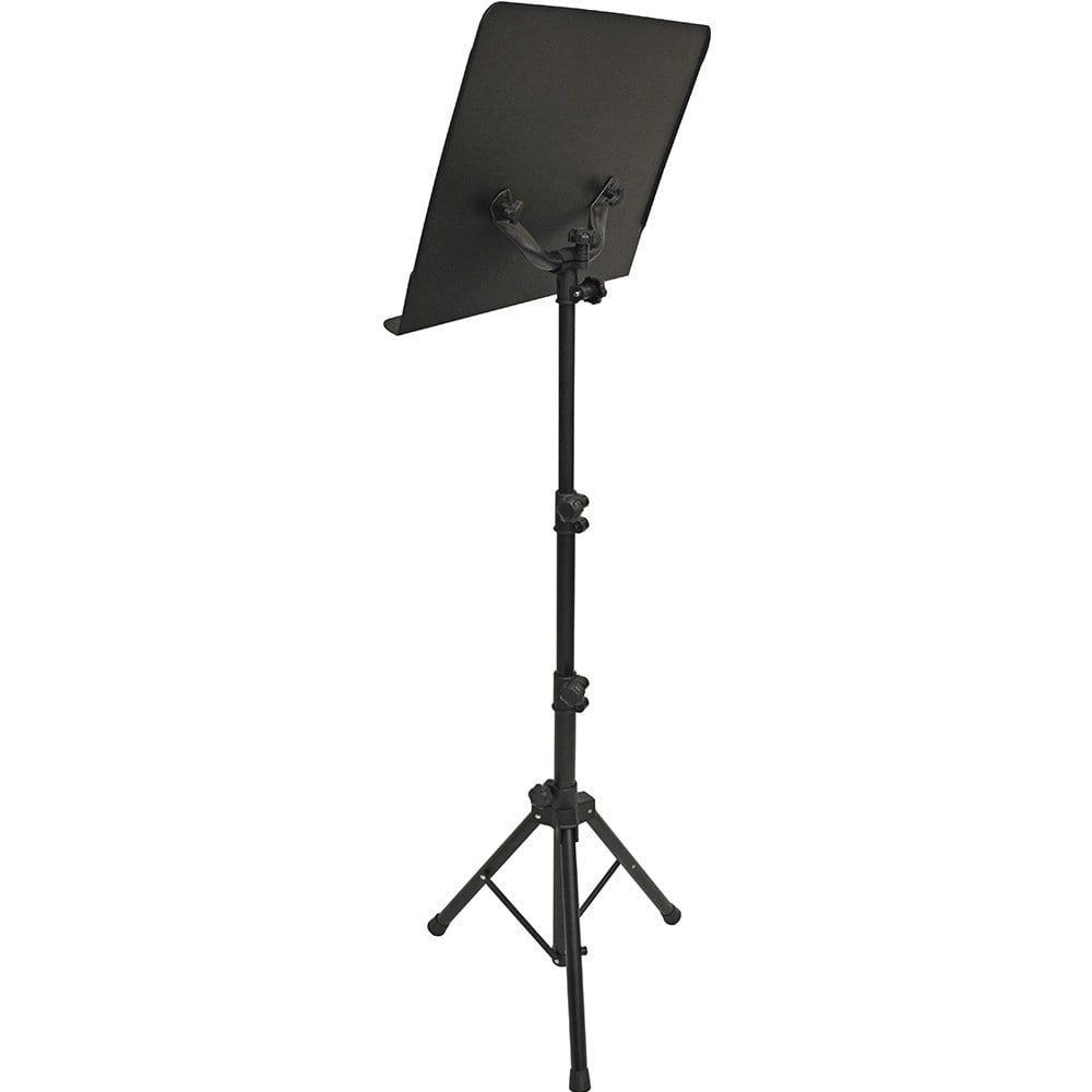 Frederick Grip & Go Steel Music Stand - Satin Black