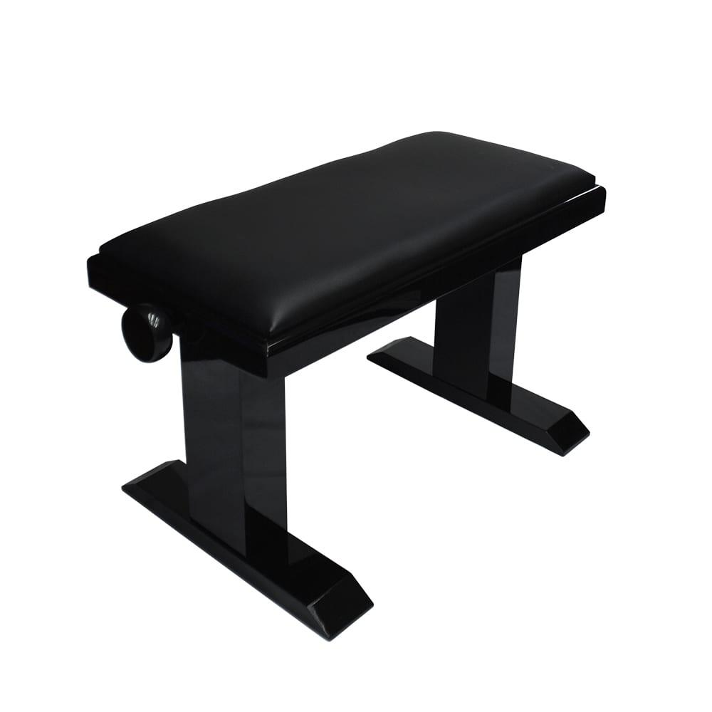 Artist Elite Adjustable Piano Bench - Ebony Polish