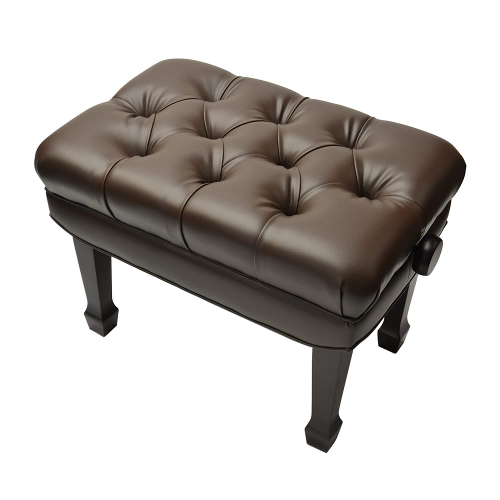 Frederick Adjustable Concert Series Tufted - Mahogany Satin