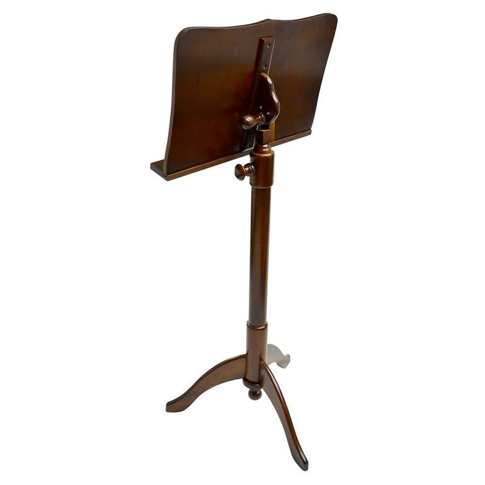 Frederick Adjustable Music Stand - Cherry Mahogany