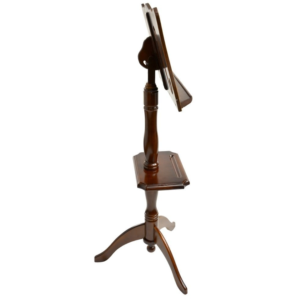 Frederick Violin F Hole Sit Down Deluxe Music Stand Walnut