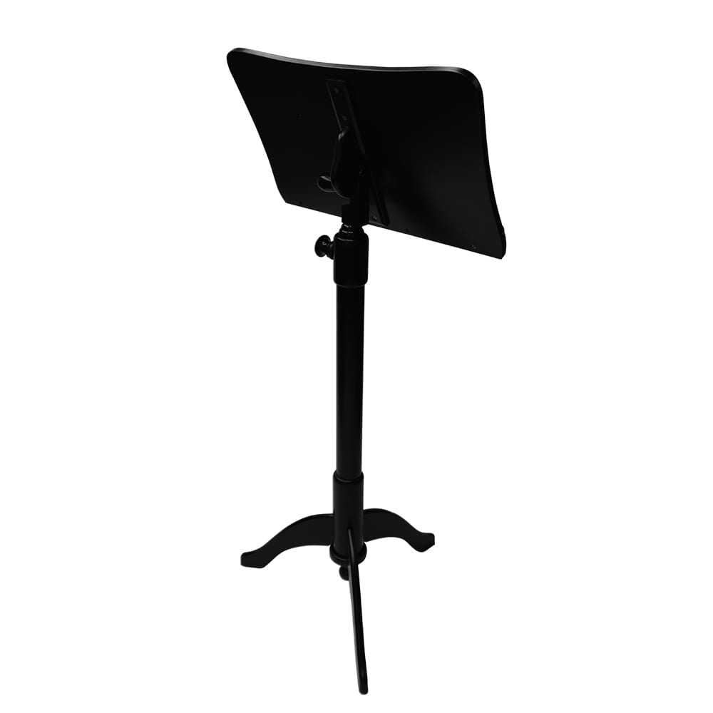Frederick Adjustable Music Stand - Ebony Satin