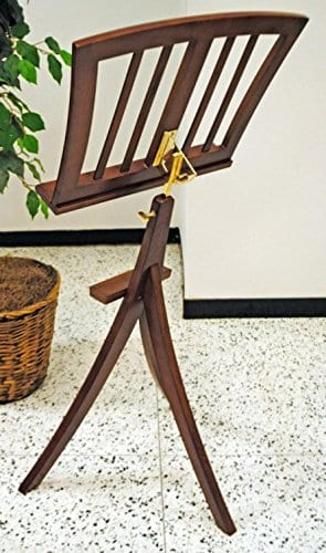 Frederick Nagasaki Music Stand - Walnut Finish