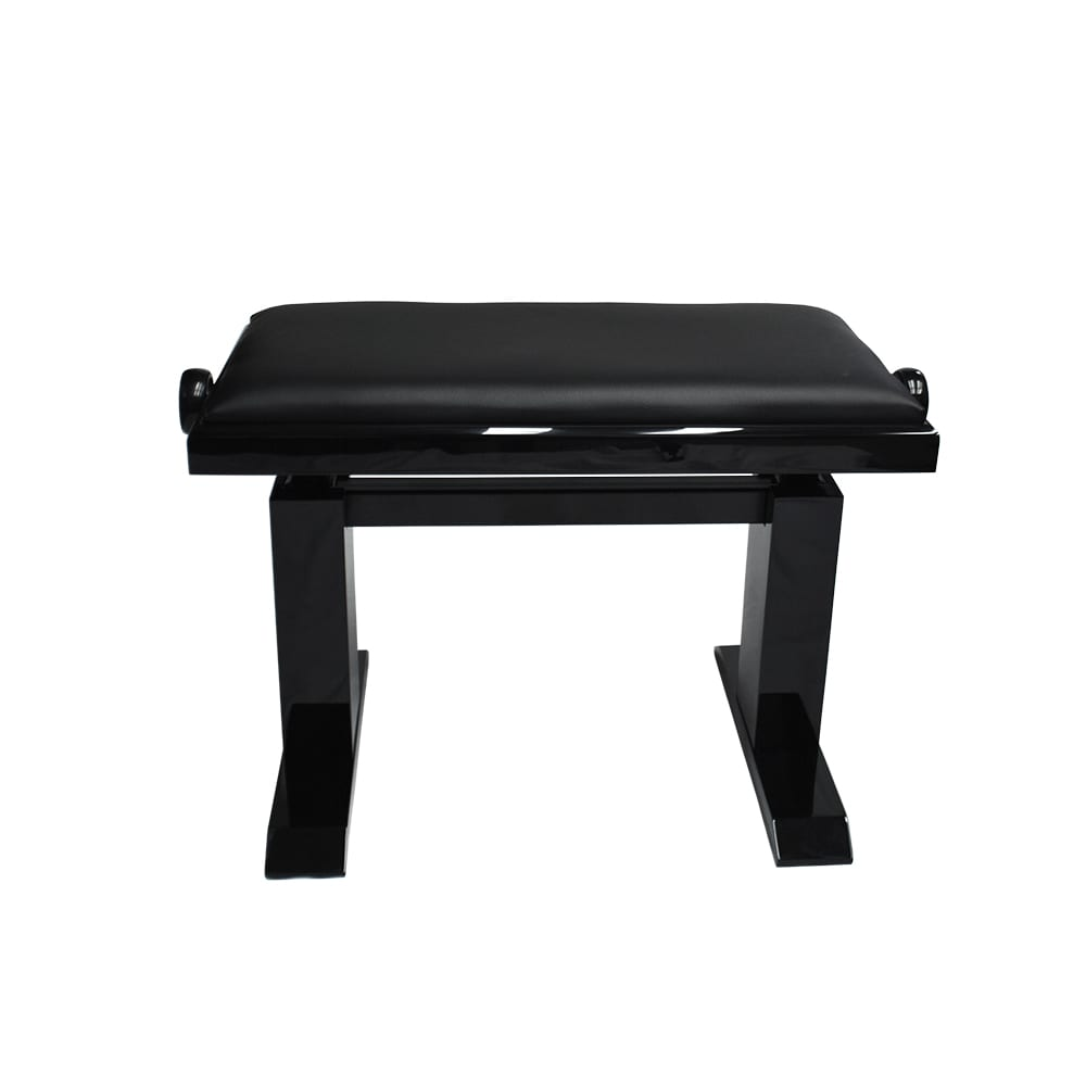 Artist Elite Adjustable  Piano Bench - Ebony Polish