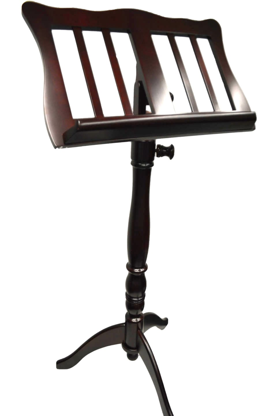 Frederick Music Stand - English Tutor Mahogany