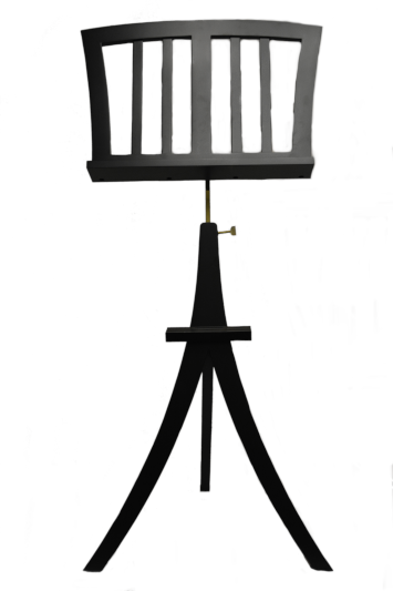 Frederick Nagasaki Music Stand - Ebony Satin