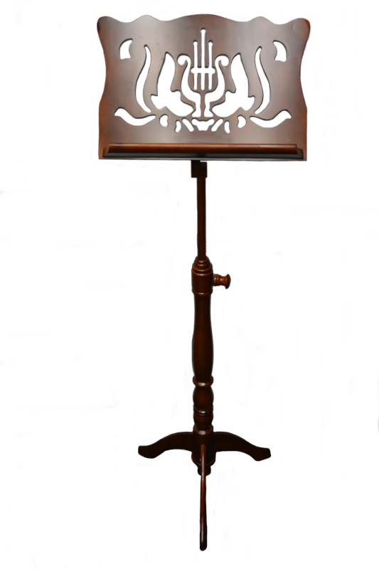 Frederick Adjustable Music Stand - Walnut